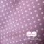 ผ้าคอตตอนลินิน 1/4ม.(50x55ซม.) พื้นสีชมพู ลายจุดสีขาว thumbnail 1