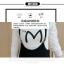ชุดเซ็ทเสื้อแขนยาวคอกลมสีขาว กับเอี๊ยมกระโปรง ดูสวย เทห์ มีสไตล์จริงๆ thumbnail 5