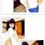 เสื้อแฟชั่นเกาหลี มาในสไตล์กลาสีเรือน่ารักๆ พร้อมสายเข็มขัดเข้าชุด thumbnail 3