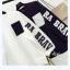 เสื้อกันหนาวแฟชั่น สีทูโทน ตัดกับลายสกรีนแบบเด่น สะดุดตา thumbnail 8