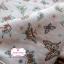ผ้าคอตตอนเกาหลีแท้ 100% 1/4 เมตร (50x55 cm.) ลายผีเสื้อเกาหลี thumbnail 1