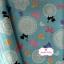 ผ้าคอตตอนญี่ปุ่น 100% 1/4ม.(50x55ซม.) โทนสีฟ้า thumbnail 1
