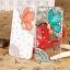 เคสไอโฟน 6 Plus / 6s Plus (Hard Case ) กรอบขาว ประดับเพชรและผีเสื้อสีส้ม thumbnail 1