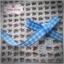 ริบบิ้นผ้า ลายสก๊อตสีฟ้า-ขาว กว้าง 0.5 ซม. thumbnail 7