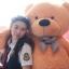 ตุ๊กตาหมี ลืมตา ขนาด 1.4 เมตร thumbnail 14