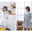 เดรสแฟชั่นชุดกลาสี สไตล์สาวญี่ปุ่น แต่งปกเสื้อ น่ารักสมวัยใสๆ thumbnail 1