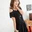 เดรสแฟชั่นเกาหลี สไตล์สบายๆ ด้วยผ้าที่มีความคล่องตัวสูง สวมใส่ง่าย ด้วยรูปแบบของเดรสขาเกางเกงขาสั้น thumbnail 4