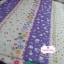 ผ้าคอตตอนไทย 100% 1/4 ม.(50x55ซม.) ผ้าสลับลายโทนสีม่วงขาว thumbnail 2