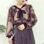 เสื้อแฟชั่นแขนยาว สไตล์สาวเกาหลี ผ้าโปร่ง นิ่ม เบาสบาย น่าสวมใส่รับหน้าร้อนเมืองไทย thumbnail 13