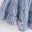 เสื้อแฟชั่นเกาหลีแขนกุด ลายสก็อตเล็กๆ ชายบานๆ สไตล์ตุ๊กตา เบาสบาย ด้วยผ้าชีฟอง SET1 thumbnail 17