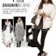 เสื้อกันหนาวแฟชั่น สไตล์สาวๆ เกาหลี สีพื้นขาวและดำ รีบซื้อใส่ก่อนลมหนาวที่จะมานะคะ สาวๆ thumbnail 4