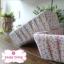 ตะกร้าผ้าใส่ของ ลายดอกเล็กๆสีชมพู thumbnail 1