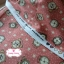 ผ้าคอตตอนเกาหลีแท้ 100% 1/4 เมตร (50x55 cm.) พื้นสีชมพูโอรส ลายนาฬิกาคลาสสิค thumbnail 3