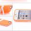 เคสไอโฟน 5/5s/SE (TPU Case) พร้อมขาตั้ง สีส้ม thumbnail 1