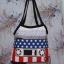 กระเป๋าผ้าcanvas สกรีนลาย ตลับเทปจุดฟ้า thumbnail 1