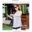 เสื้อขาว-ดำแฟชั่น ดีไซน์ทรงยาว มีให้เลือกทั้งแบบแขนสั้นและแขน 5 ส่วน thumbnail 7