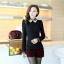 เสื้อแฟชั่นเกาหลี แขนยาว ตัดเย็บด้วยลูกไม้ลายสวย ประณีต มีระดับ ไฮโซสุดๆ thumbnail 12