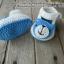 รองเท้าพี่หมีสีฟ้าขนาด 1-3 เดือน thumbnail 2