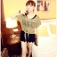 เสื้อยืดแฟชั่นเกาหลี ต้อนรับลมทะเลด้วยเสื้อผูกเอว สวมใส่สบายรับลมเย็นๆ thumbnail 1