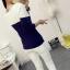 เสื้อยืดแขนยาวแฟชั่น สีทูโทนสุด cool ทรงเข้ารูป กระชับสัดส่วน น่าใส่มากๆ คร่าสาวๆ thumbnail 17