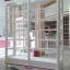 ตู้โชวชั้นวาง วินเทจสีขาว สำหรับบ้านเเละร้านค้า ยาว150 thumbnail 1