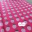 ผ้าคอตตอนญี่ปุ่น 100% 1/4ม.(50x55ซม.) พื้นสีชมพูเข้ม ลายสตอเบอร์รี่ thumbnail 2