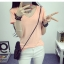 เสื้อยืดคอวีสีสันสวยๆ ใส่ได้ทุกยุค ทุกสมัยแฟชั่น มีให้เลือกสีกันอย่างจุใจ thumbnail 27