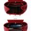 กระเป๋าหนังสะพายหลัง สีแดงสีสันเจ็บๆ สะพายไปไหนก็เด่นสะกดทุกสายตา thumbnail 15