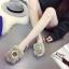 รองเท้าแฟชั่นสตรี ทรงเตี้ยใส่สบายเท้า แต่งขนหนาๆ ฟูนุ่ม ตัดกับวงแหวนสีทอง ดูสะดุดตาเมื่อได้เห็นจริงๆ thumbnail 8