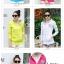 เสื้อกันหนาวแฟชั่น สีสันสวยจัดจ้านแบบ colorful ทรงสลิมเข้าหุ่นพอดีตัว thumbnail 4
