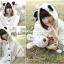 เสื้อกันหนาวมีหู ทรงหมีแพนด้าสุดน่ารัก ขนนิ่มๆ กับฮูดหูดำๆ สำหรับสาวๆ อย่างเราโดยเฉพาะ thumbnail 5