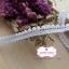 ลูกไม้แต่งปอมปอมเล็กสีขาว กว้าง 1 ซ.ม. thumbnail 3