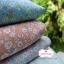 ผ้าคอตตอนไทย 100% 1/4ม.(50x55ซม.) Blooming Flower โทนสีชมพู thumbnail 3