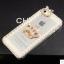 เคสไอโฟน 6 Plus / 6s Plus (Hard Case กรอบใส) ประดับเพชรมุกและ มงกุฏสีทอง thumbnail 1