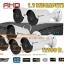 ชุดติดตั้งกล้องวงจรปิดBE-R13 (1.3 ล้าน) ir 30 เมตร 6 ตัว (DVR 8 CH.,สายRG6มีไฟ 150 เมตร,HDD 2 TB) thumbnail 1