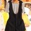 ชุดเซทเอี๊ยมทรงน่ารักๆ เข้ากับเสื้อลายขวาง ใครใส่ก็น่ารัก 2สี หลายขนาด เหมาะกับสาวๆ ทุกไซด์จ้า thumbnail 12
