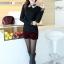 เสื้อแฟชั่นเกาหลี แขนยาว ตัดเย็บด้วยลูกไม้ลายสวย ประณีต มีระดับ ไฮโซสุดๆ thumbnail 14