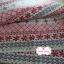 ผ้าแคนวาสญี่ปุ่น 100% 1/4 ม.(50x55ซม.) โทนสีแดง ลายดอกไม้ thumbnail 3