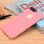 เคสไอโฟน 6Plus/6sPlus (Silicone Case) สีชมพู รุ่นป้องกันกล้อง+โชว์โลโก้แอปเปิ้ล thumbnail 2
