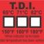 แผ่นวัดอุณหภูมิในเครื่องล้างจาน Dishwasher Label thumbnail 1
