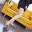 รองเท้าแฟชั่นสตรี ทรงเตี้ยใส่สบายเท้า แต่งขนหนาๆ ฟูนุ่ม ตัดกับวงแหวนสีทอง ดูสะดุดตาเมื่อได้เห็นจริงๆ thumbnail 9