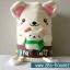 สายผ้าคาด ผ้าห่มม้วนตุ๊กตา วันรับปริญญา (Congratulations) สีน้ำตาล ## พร้อมส่งค่ะ ## thumbnail 2