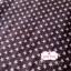 ผ้าคอตตอนไทย 100% 1/4 ม.(50x55ซม.)ลายดาว พื้นสีน้ำตาล thumbnail 1