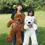 ตุ๊กตาหมี ลืมตา ขนาด 1.0 เมตร thumbnail 8