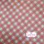 ผ้าคอตตอนลินิน 1/4ม.(50x55ซม.) ลายตารางสีส้ม thumbnail 1