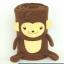 ผ้าห่มม้วน ลิง (Monkii) ยี่ห้อ Minojo ## พร้อมส่งค่ะ ## thumbnail 1