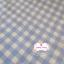 ผ้าคอตตอนไทย 100% 1/4 ม.(50x55ซม.) ลายตารางโทนสีฟ้า thumbnail 1