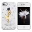 เคสไอโฟน 5/5s/SE (Case Iphone 5/5s/SE) เคสไอโฟนกรอบโปร่งใส ประดับสาวเต้นบัลเล่ย์ thumbnail 1