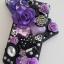 เคสไอโฟน4/4s (Case Iphone 4/4s) เคสไอโฟน Anna Sui สีม่วง thumbnail 1