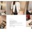 เสื้อกันหนาวแฟชั่น สไตล์สาวๆ เกาหลี สีพื้นขาวและดำ รีบซื้อใส่ก่อนลมหนาวที่จะมานะคะ สาวๆ thumbnail 14
